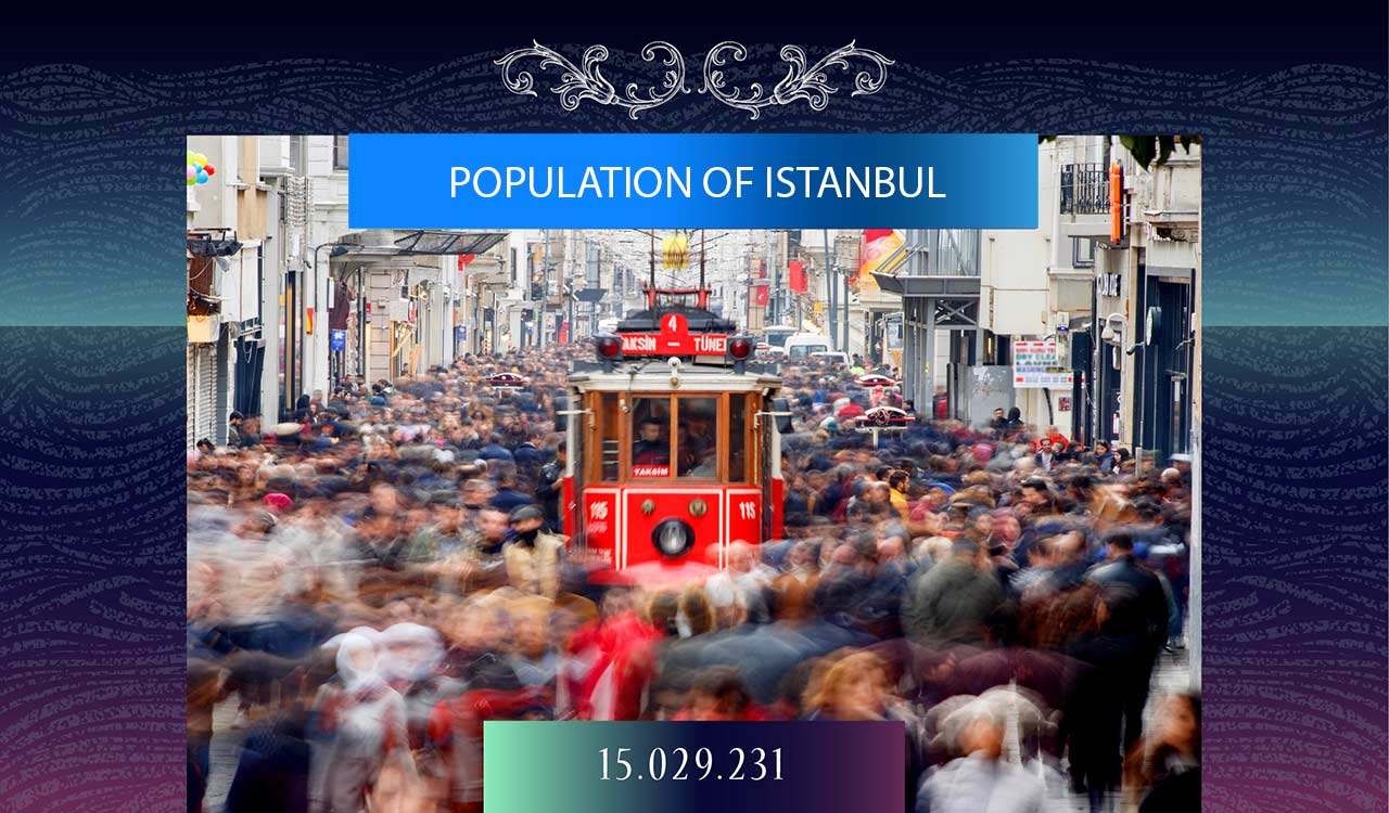 POPULATION OF ISTANBUL