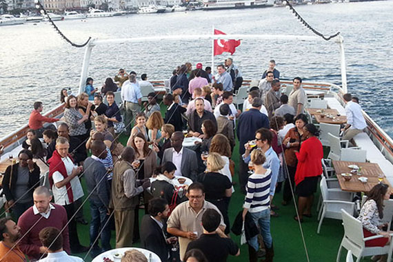 PRIVATE EVENTS ON THE BOSPHORUS, ISTANBUL