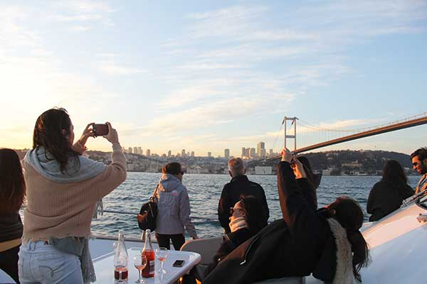 Lunch Cruise on the Istanbul Bosphorus
