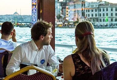 Ottoman Nights Dinner Cruise with Belly Dancer and Turkish Folk Dances