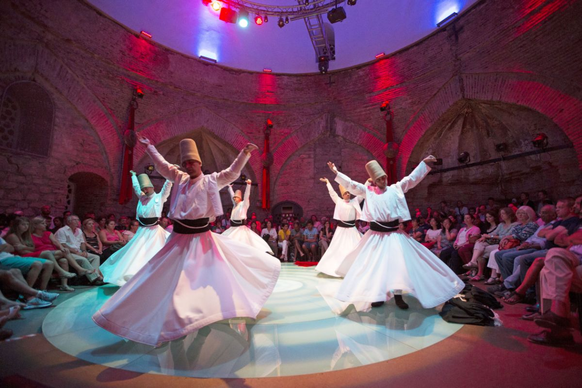 See The Whirling Dervishes Ceremony in Istanbul