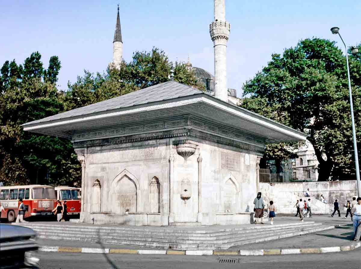 The Fountain of Sultan Ahmet III