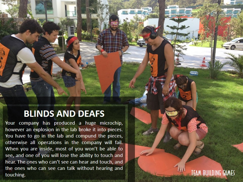 TEAM-BUILDING-GAMES-BLINDS-AND-DEAFS, BLINDS AND DEAFS