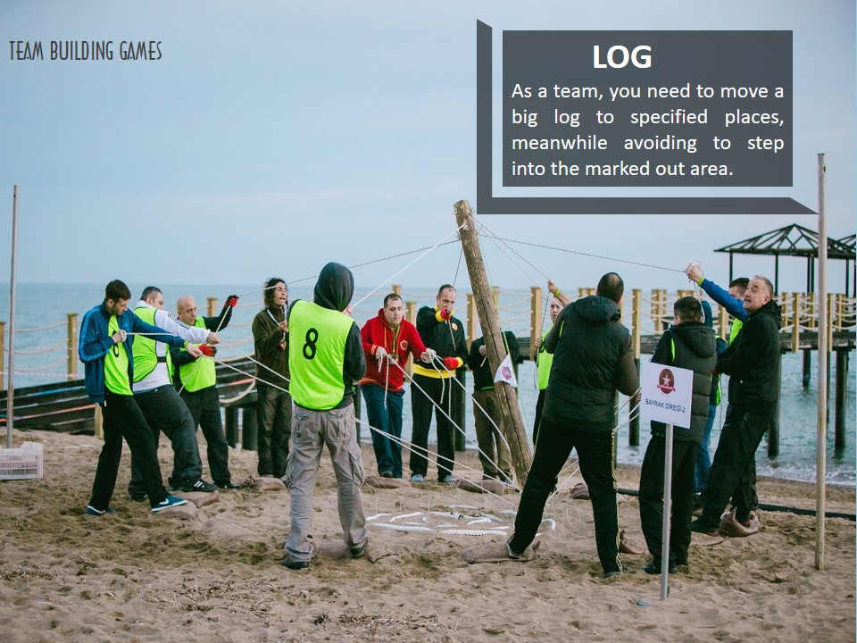 TEAM-BUILDING-GAMES, LOG